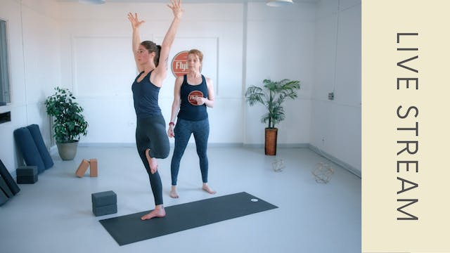 Power Vinyasa with Ingrid (60min)