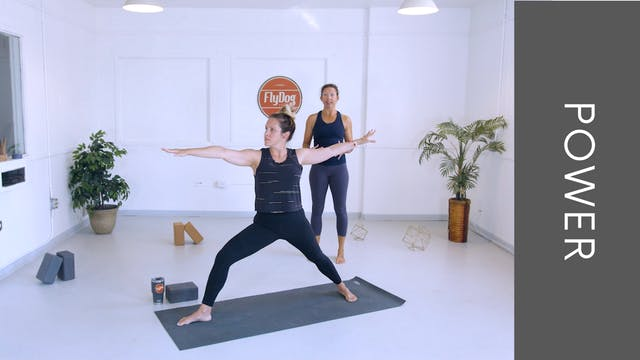 Power Vinyasa with Heidi (31min)