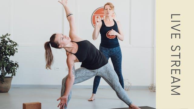 Power Vinyasa with Ingrid (60min)