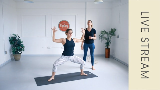 Power Vinyasa with Ashley (60min)- Metronome