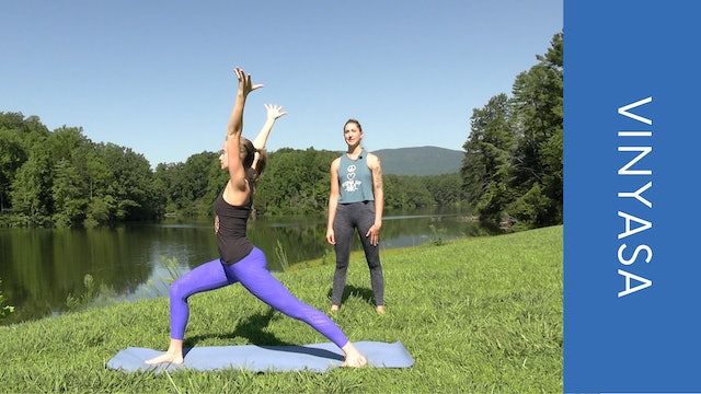 Vinyasa with Ashley - Morning Flow at Beaver Creek Reservoir (16 min)