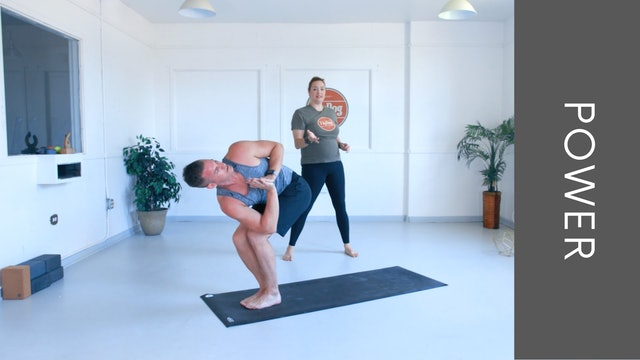 Power Vinyasa with Eliza (33min)