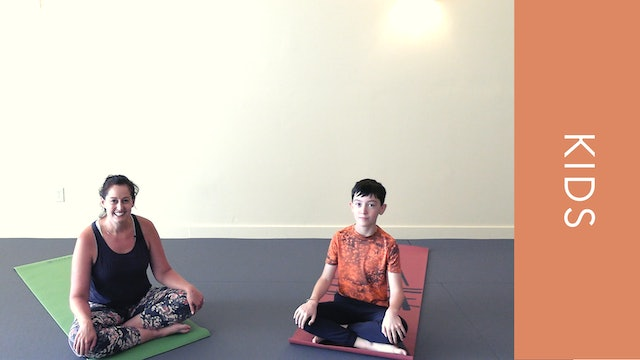 Kids Yoga - Walking Through Sunshine