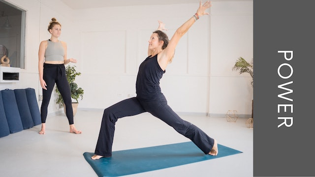 Power Vinyasa with Jen (31min)