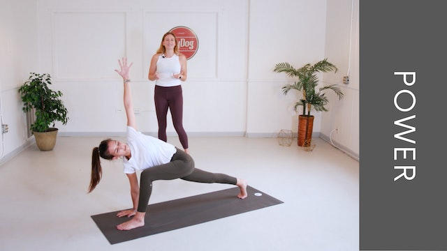 Power Vinyasa with Jennifer (45min)