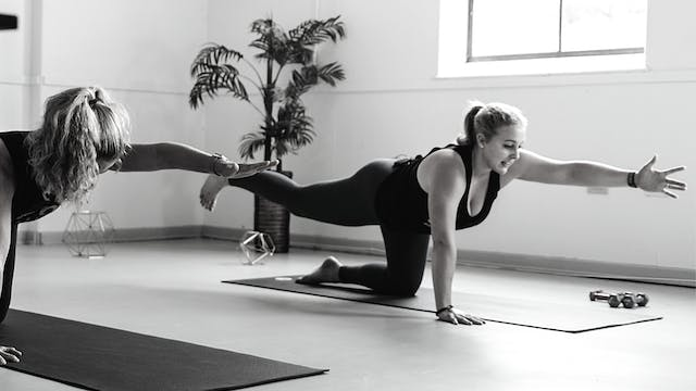 THU 10/22 | 12:00PM EST | Barre with ...