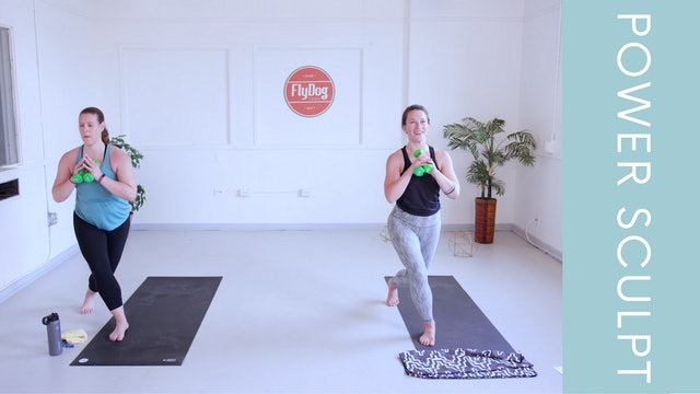 Power Sculpt with Caroline (29min)