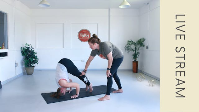 Power Vinyasa with Eliza (60 min)