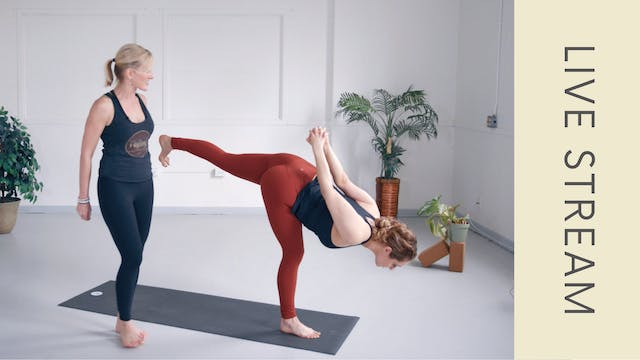 Power Vinyasa with Shannon B (47min)
