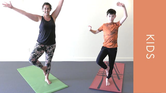 Kids Yoga - Balance & Focus