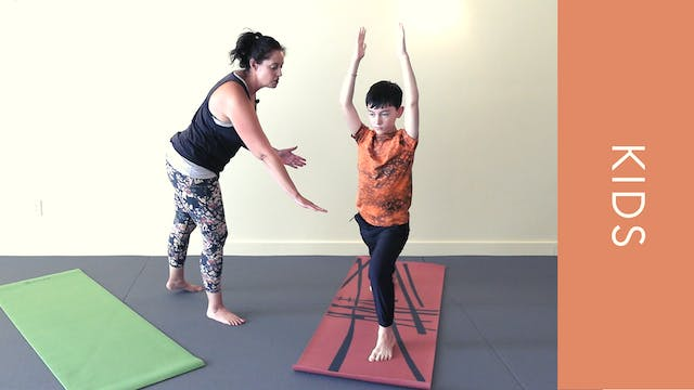 Kids Yoga - Power Poses