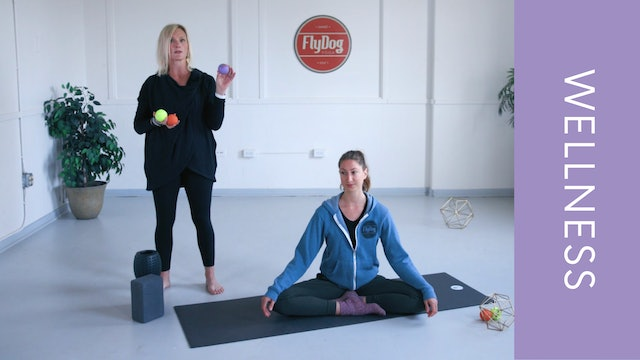 Myofascial Release with Shannon (Upper Body) (33min)