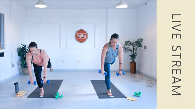 Power Sculpt with Caroline (60min)