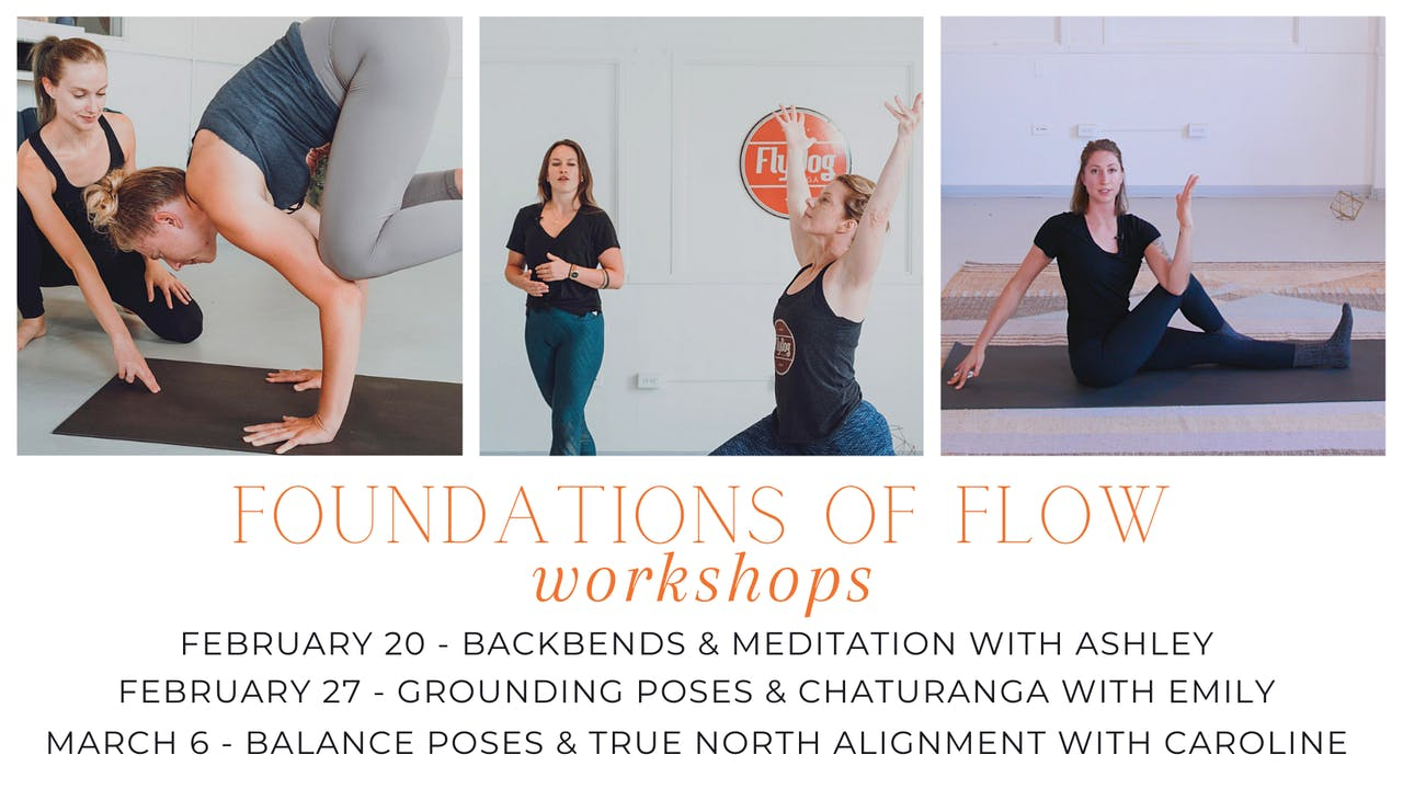 Foundations of Flow: Backbends & Meditation