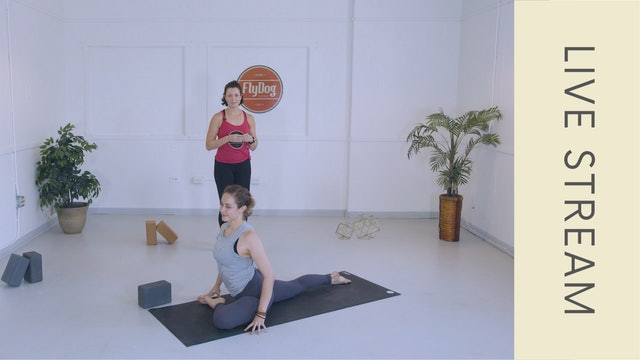 Vinyasa with Courtney C