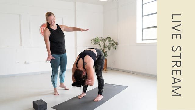 Vinyasa with Shannon (60min)