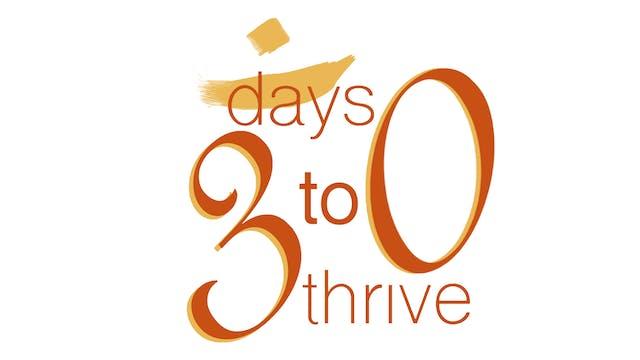 30 Days to Thrive