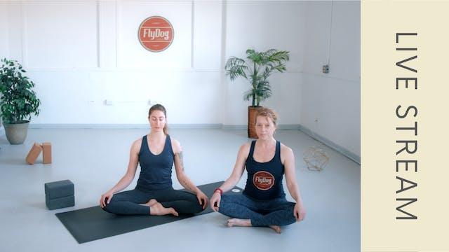 Yin with Ingrid (60min)