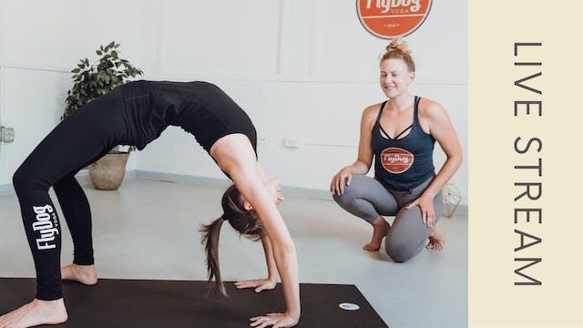 Power Vinyasa with Jennifer (60min)