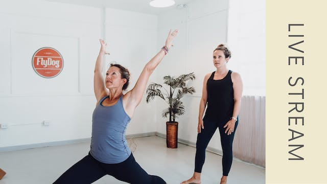 Power Vinyasa with Ashleigh (60min)