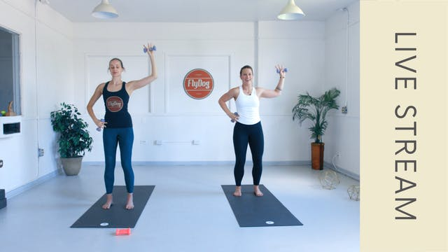 Barre with Caroline (60min)