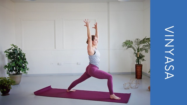 Vinyasa with Courtney N (Morning Flow) (11min)