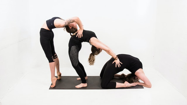 WED 9/30 | 12:00PM EST | Vinyasa with Caroline
