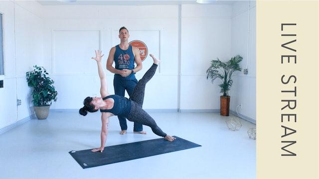Power Vinyasa with Adam (60min)