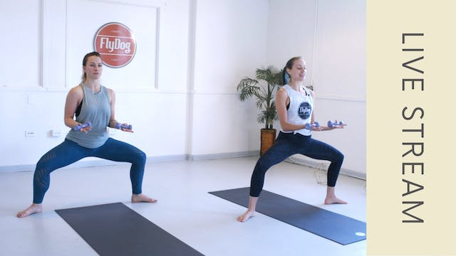 Barre with Emily (60 min)