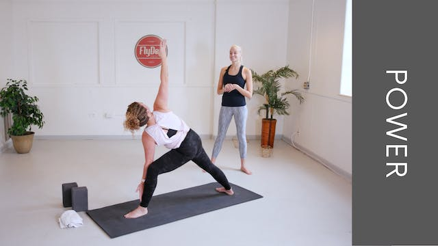 Power Vinyasa with Emily (45min)
