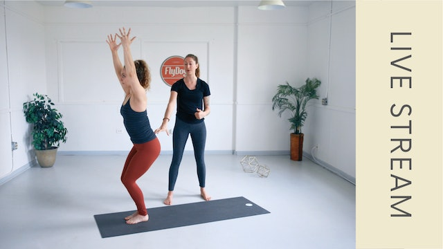 Power Vinyasa with Ashley (61min)