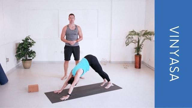 Vinyasa with Adam (32min)