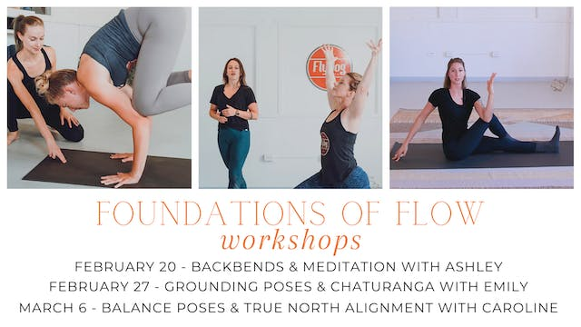Foundations of Flow: Balance Poses & True North Alignment