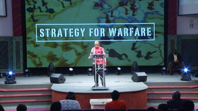 8.29.18 Dr. Herbert Bailey - Strategy for Warfare Pt 4