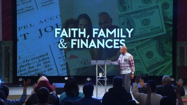 Faith, Family and Finances Confession