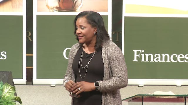 Faith for Finances - Dr. Marcia Bailey