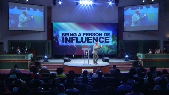 8.19.18 Dr. Herbert Bailey - Being a Person of Influence Pt 2