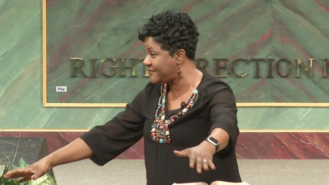 Persevering In Prayer Pt 2 - Dr. Marcia Bailey