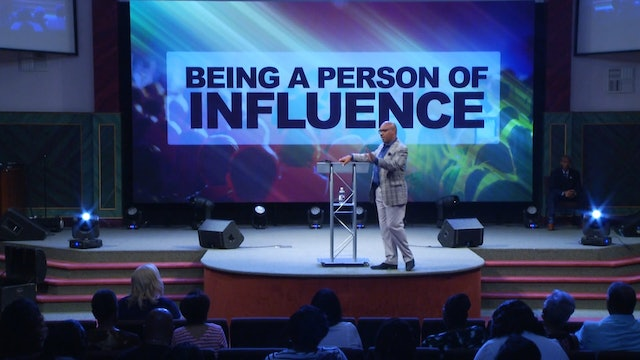 8.26.18 Dr Herbert Bailey - Being a Person of Influence Pt 3