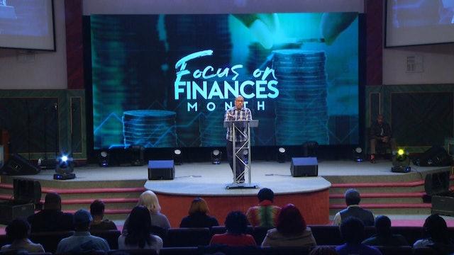 1.9.19 Bishop Herbert Bailey - Faith, Family & Finances Pt 1