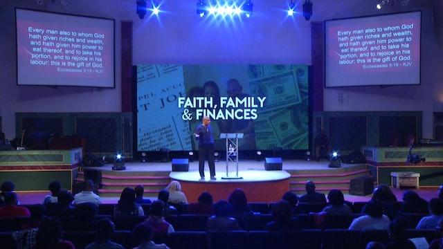 1.16.19 Bishop Herbert Bailey - Faith, Family and Finances Pt 2