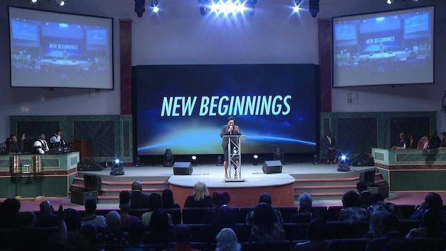 8.5.18 Dr Marcia Bailey - New Beginnings