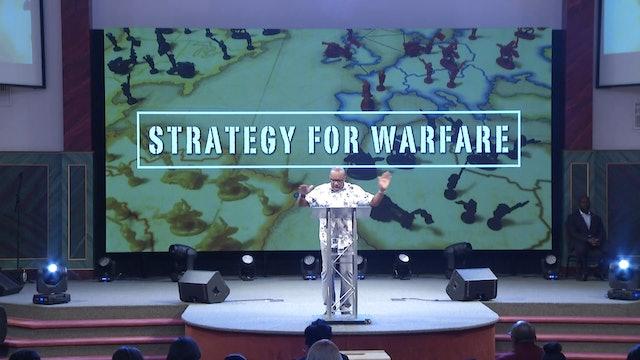 8.15.18 Dr Herbert Bailey - Strategy for Warfare Pt 2