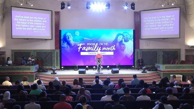 7.19.17 Pastor Tony Cooke - Famly Values