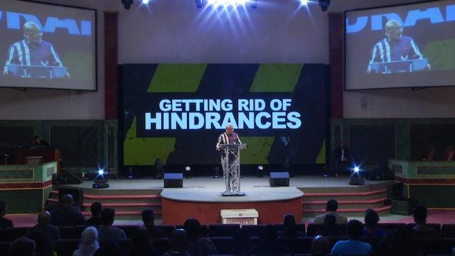 10.31.18 Bishop Herbert Bailey - Getting Rid of Hindrances Pt 5