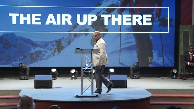 2.25.18 Dr Herbert Bailey The Air Up There Pt 3