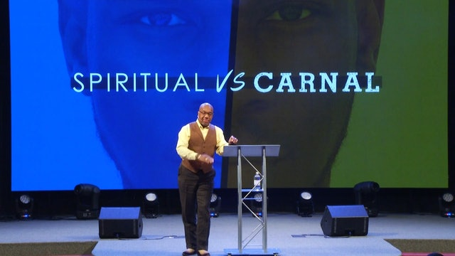 11.28.18 - Bishop Herbert Bailey Spiritual vs Carnal