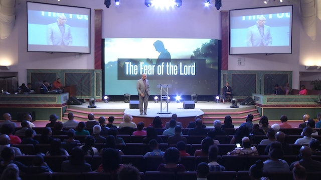 11.19.17 Dr Herbert Bailey - The Fear of the Lord Pt 2
