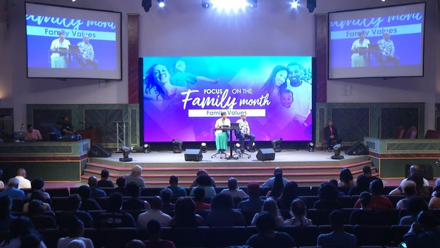 7.12.17 Drs. Herbert and Marcia Bailey - Family Values Pt 2