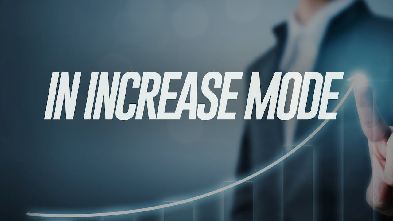 In Increase Mode - Dr. Marcia Bailey